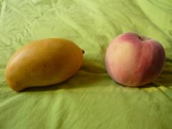 peach follows mango season
